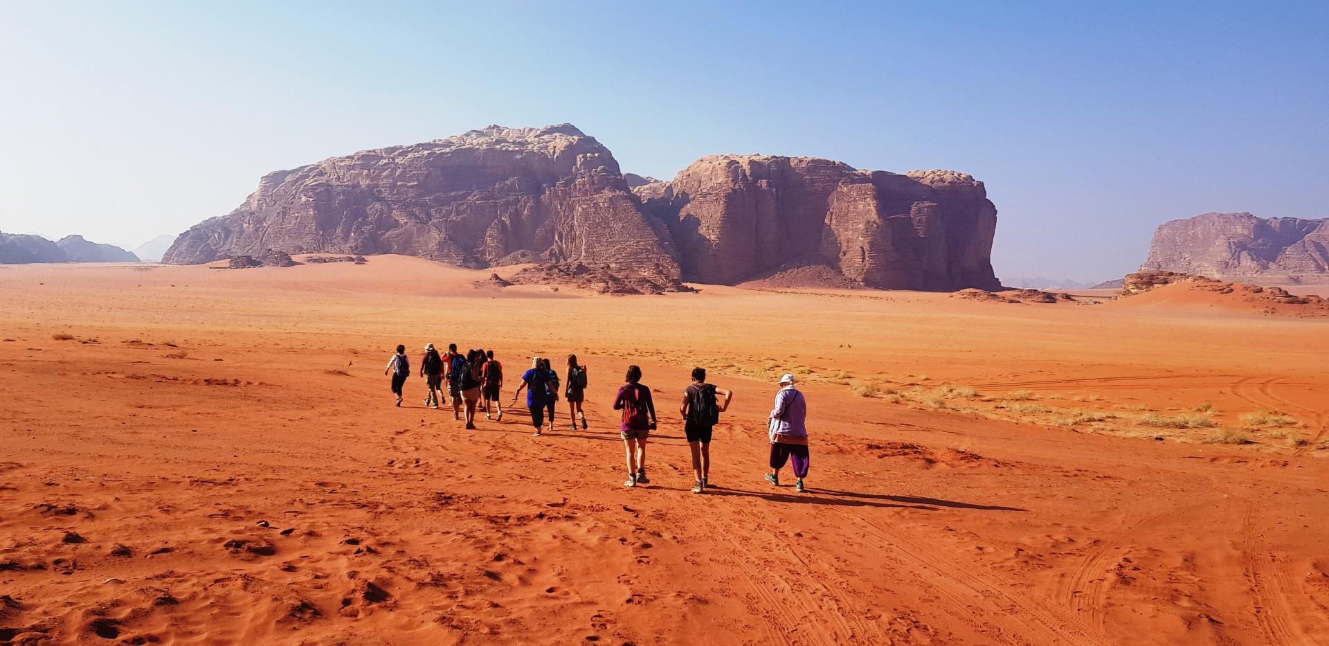 Visiter Wadi Rum - Jordanie
