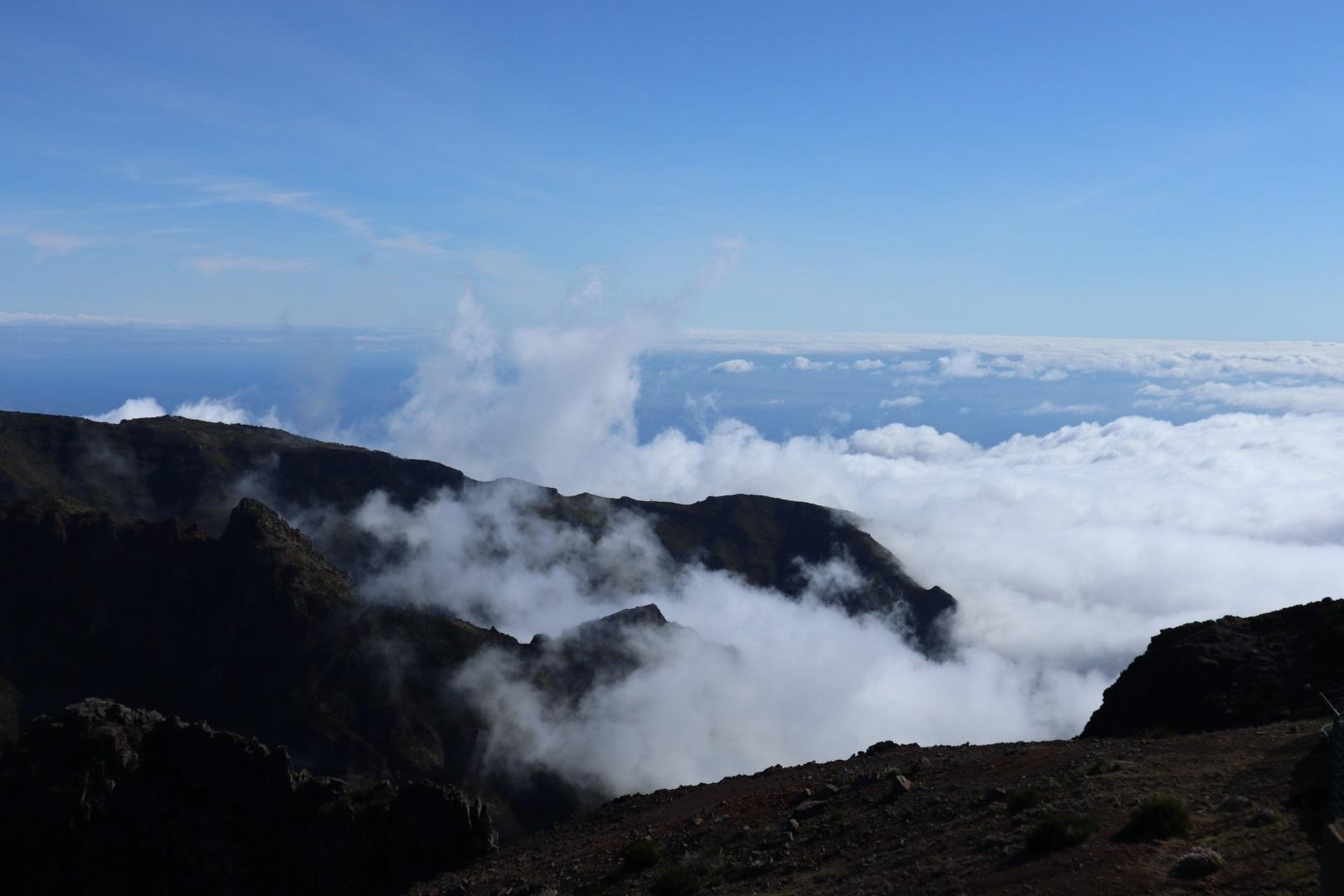 Visiter Pico Arieiro - Madère