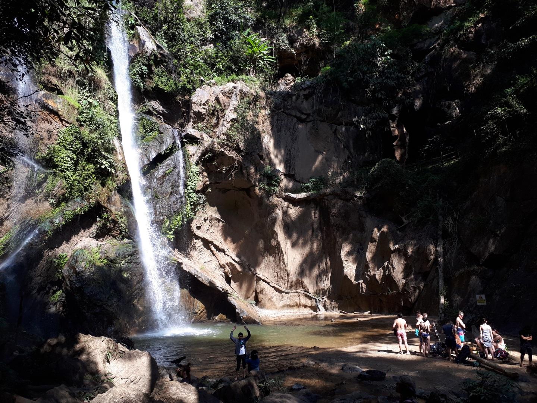 Visiter La cascade naturelle de Mok Fah - Thaïlande