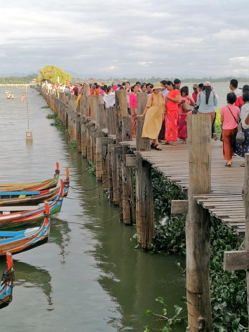 Visiter Pont d'U Bein - Birmanie