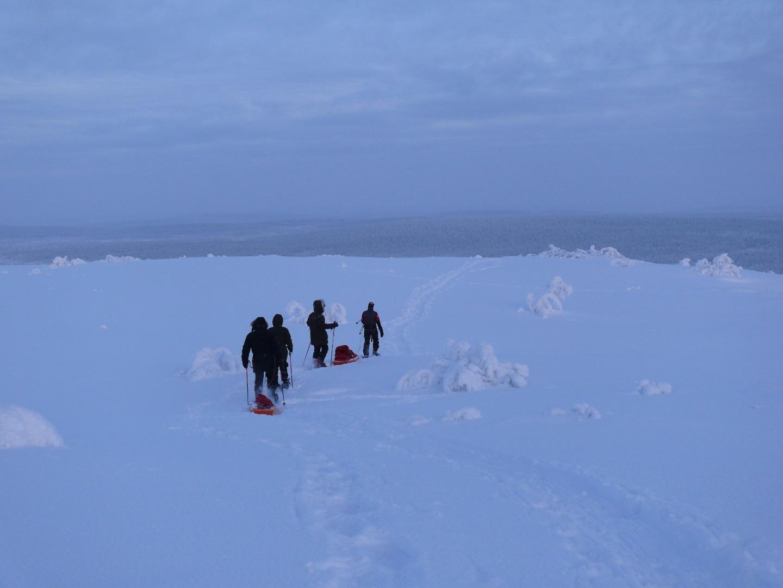 Visiter La Laponie en randonnée raquettes - Laponie