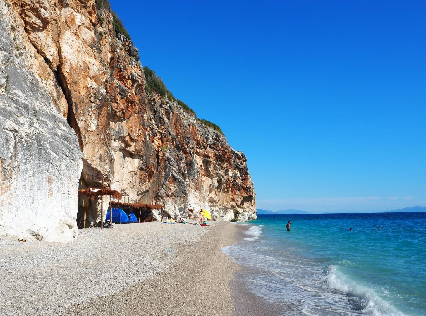 Visiter La plage de Gjipe - Albanie