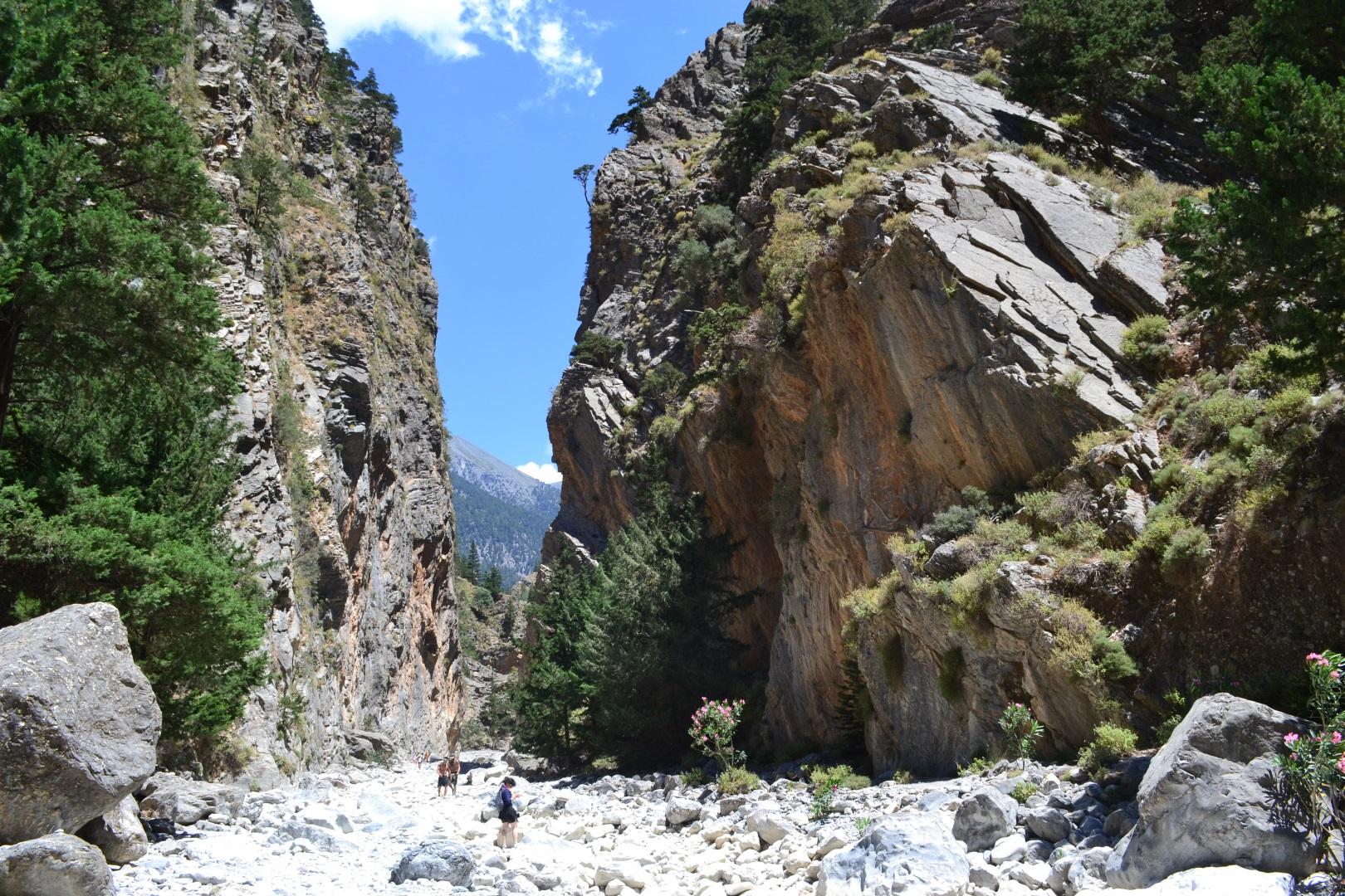 Visiter Les gorges de Samaria - Crète