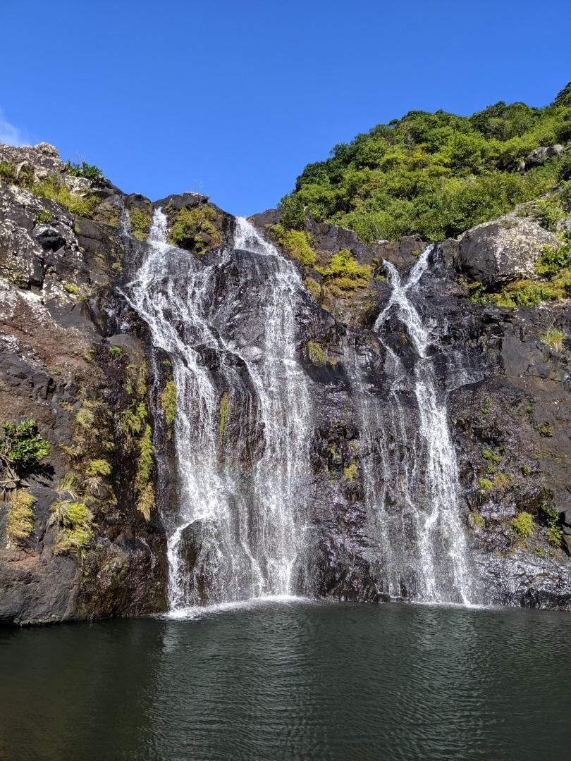 Visiter Les cascades de Tamarin - Ile Maurice
