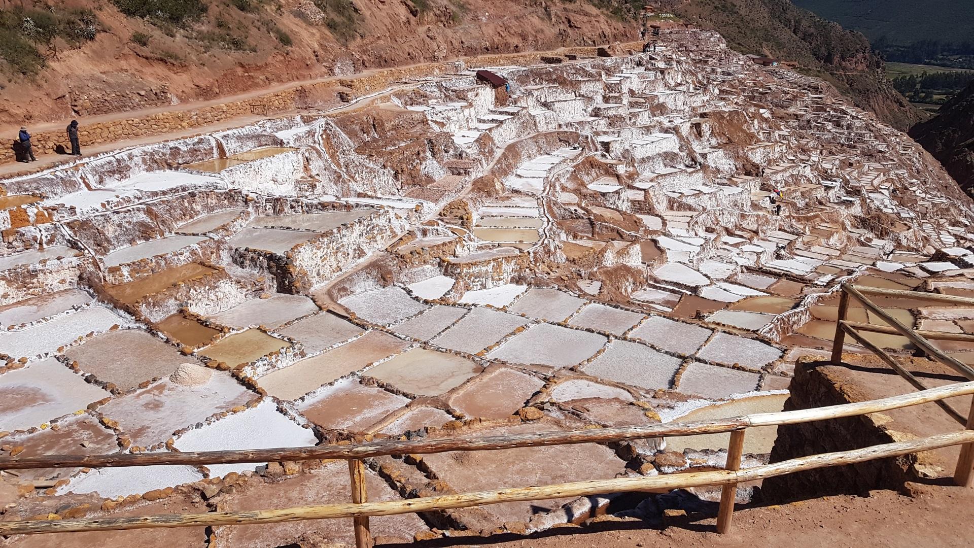 Visiter Les salines de Maras - Pérou