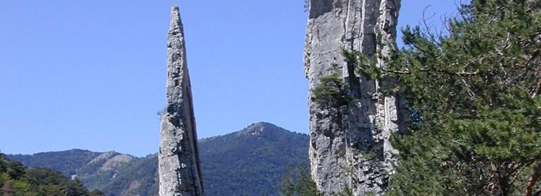 Circuit Rhône-Alpes - Jour 1 : Die - Borne - Grimone (1150m)