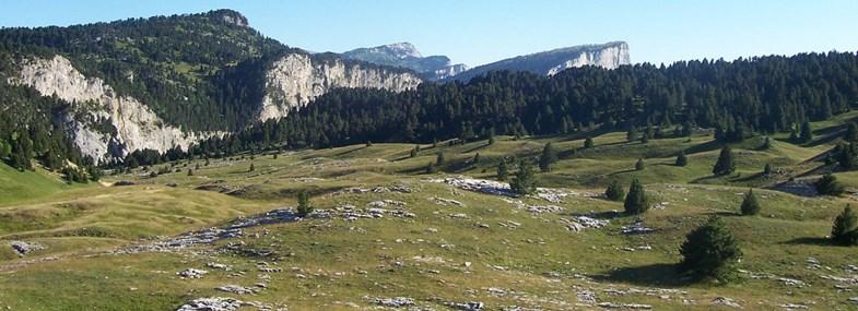 Circuit Rhône-Alpes - Jour 6 : La Richardière - Maison forestière du château (1050m) - Die