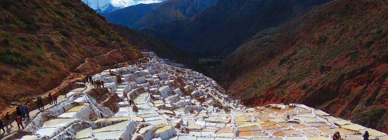 Circuit Pérou/Bolivie - Jour 5 : Ollantaytambo (2740 m) - Maras (3300 m) - Moray - Chinchero (3780 m) - Cusco (3350 m)