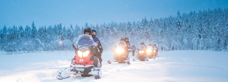 Circuit Laponie - Jour 2 : Journée moto neige
