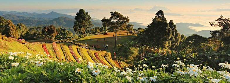 Circuit Thaïlande - Jour 6 : Chiang Mai - Cascade de Mok Fah - Village Karen