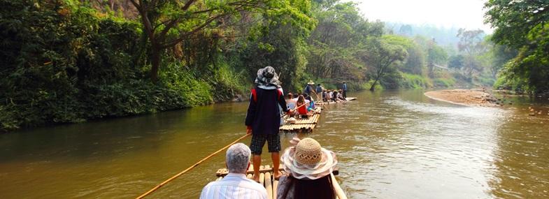 Circuit Thaïlande - Jour 8 : Randonnée & Rafting bambou