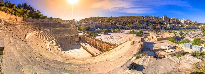 Circuit Jordanie - Jour 1 : Vol pour Amman