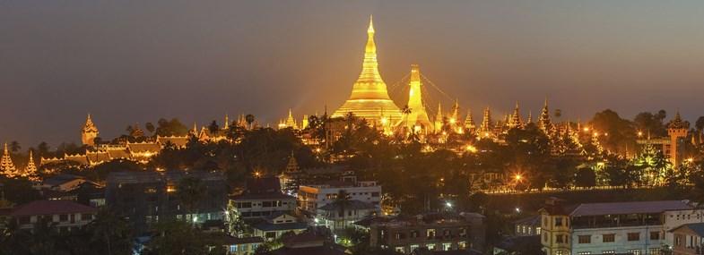 Circuit Birmanie - Jours 1 & 2 : Vol pour Rangoon