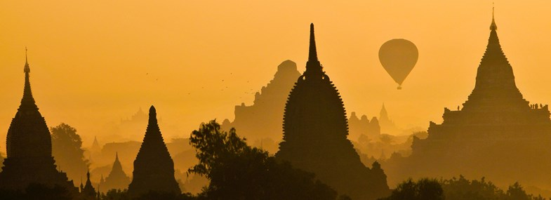 Circuit Birmanie - Jour 3 : Rangoon - Bagan