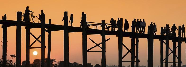 Circuit Birmanie - Jour 7 : Mandalay - Sagaing - Amarapura