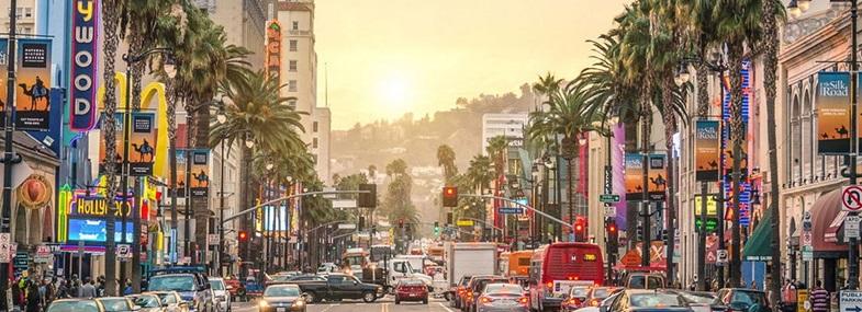Circuit Etats-Unis - Jour 1 : Vol pour Los Angeles