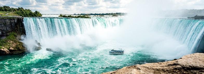 Circuit Etats-Unis - Canada - Jour 1 : Vol pour Toronto - Niagara Falls