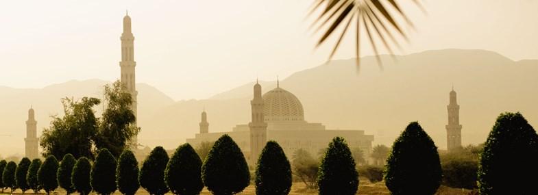 Circuit Oman - Jour 2 : Mosquée du Sultan Qaboos - Bandar Khairan - Nakhal - Wadi Bani Awf