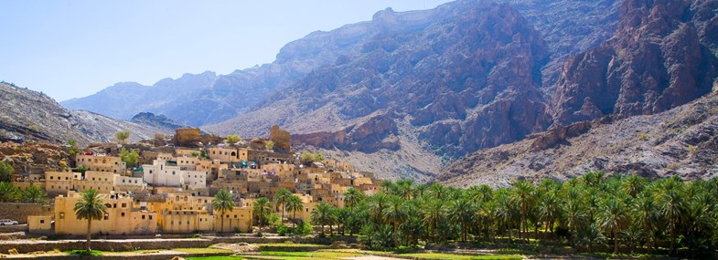 Circuit Oman - Jour 3 : Wadi Bani Awf - Bilad Sayt - Sharaf Al Ayameen - Misfah - Jebel Shams