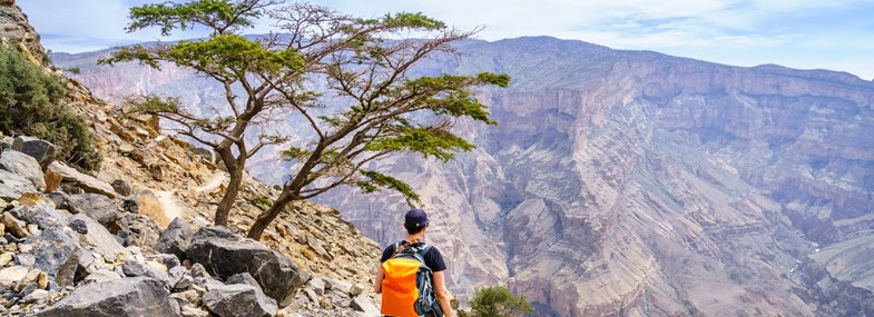 Circuit Oman - Jour 4 : Jebel Shams - Misfah - Nizwa