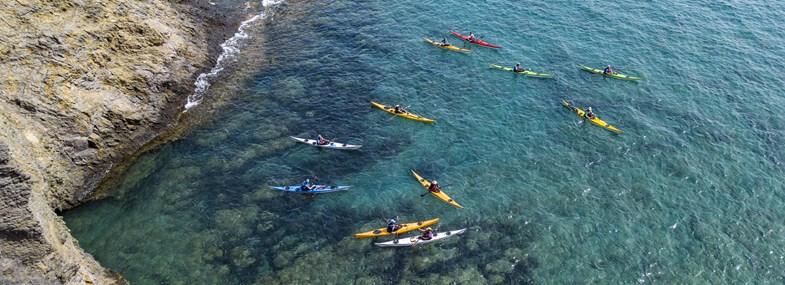 Circuit Canaries - Jour 6 : Les Vignobles - Sud de l'Ile en kayak