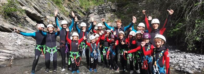 Circuit Rhône-Alpes - Jour 4 : Canyoning dans le torrent des eaux chaudes
