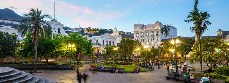 Circuit Equateur - Jour 1 : Vol pour Quito