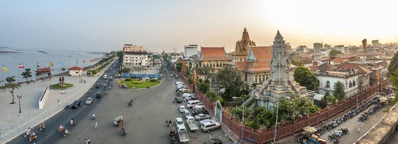 Circuit Cambodge - Jours 1 & 2 : Paris - Phnom Penh
