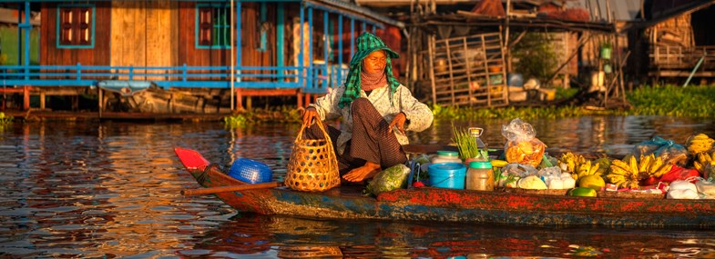 Circuit Cambodge - Jour 5 : Phnom Penh - Battambang