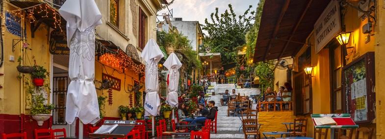 Circuit Grèce  - Jour 1 : Vol pour Athènes