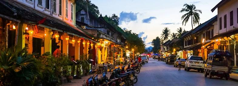 Circuit Laos-Cambodge - Jours 1 & 2 : Vol pour Luang Prabang