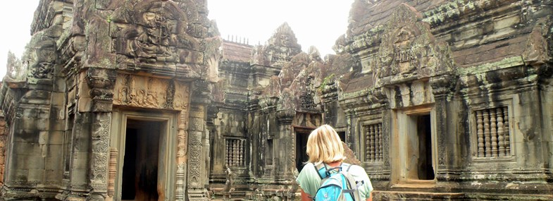 Circuit Laos-Cambodge - Jour 13 : Kbal Spean - Banteay Srei