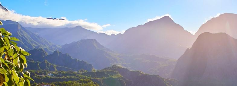 Circuit Ile de la Reunion - Jours 1 & 2 : Vol pour l'Ile de la Réunion