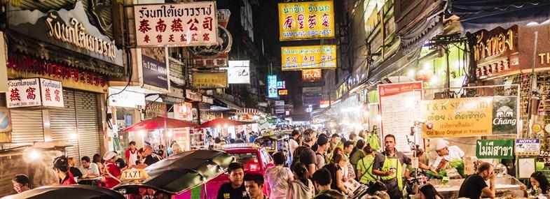 Circuit Thaïlande - Jours 1 & 2 : Vol pour Bangkok
