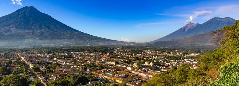 Circuit Guatemala - Jour 1 : Vol pour Guatemala ciudad