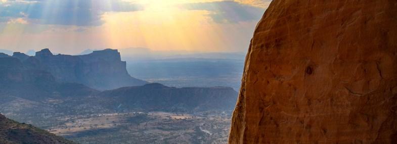 Circuit Ethiopie - Jour 8 : Adigrat (2460 m) - Gheralta (2105 m)