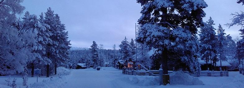 Circuit Laponie - Jour 4 : Rovaniemi - Saariselkä