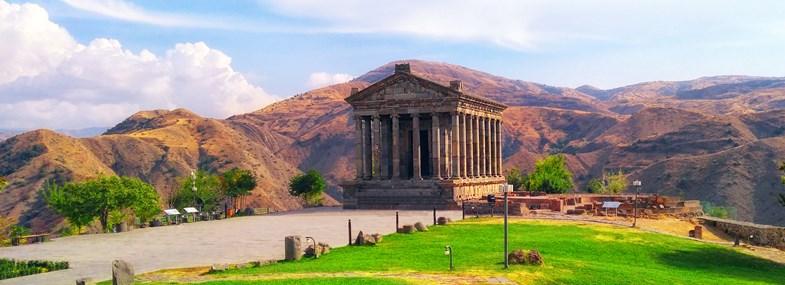 Circuit Arménie - Jour 8 : Erevan - Geghard - Temple de Garni - Erevan