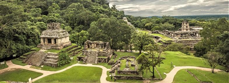 Circuit Mexique - Jour 7 : Palenque - Misol Ha - Agua Azul - Site archéologique de Palenque