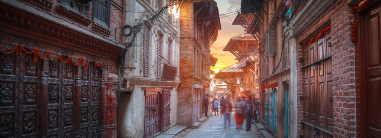 Circuit Népal - Jours 1 & 2 : Paris - Katmandou