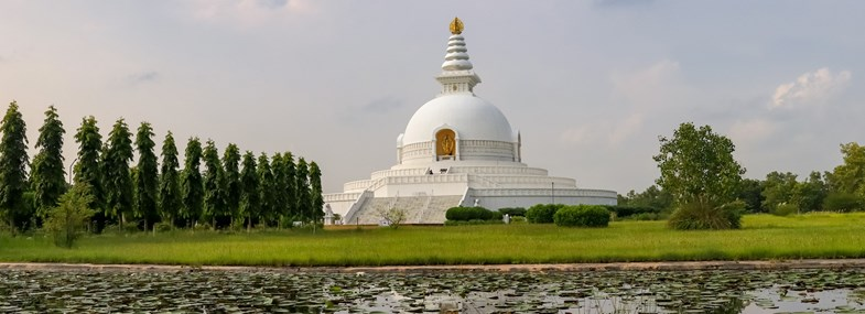 Circuit Népal - Jour 4 : Tashi Ling - Shanti Stupa