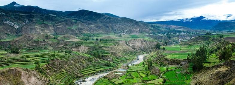 Circuit Pérou - Jour 7 : Cabanaconde (3287 m) - Chivay - Llachon (3850 m)