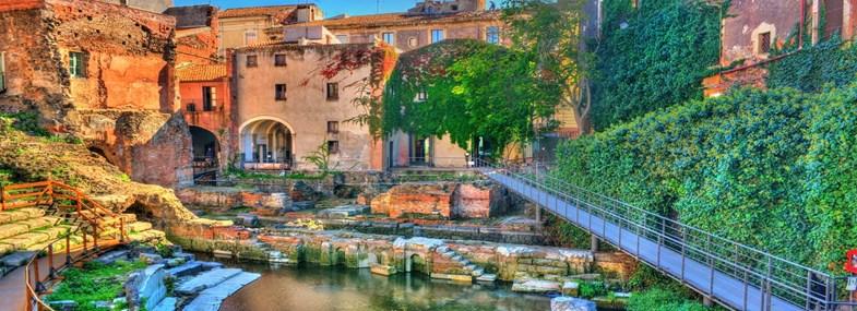 Circuit Sicile - Jour 1 : Vol pour Catane