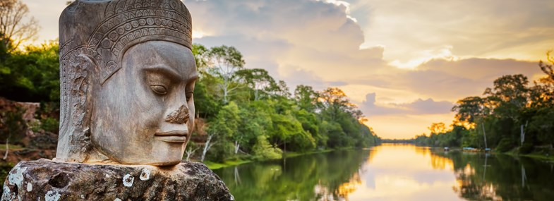 Circuit Vietnam-Cambodge - Jour 13 : Ho Chi Minh Ville - Siem Reap - Temples d'Angkor (Angkor Vat et Ta Prohm)