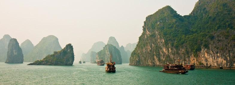 Circuit Vietnam-Cambodge - Jour 6 : Baie d'Halong - Hanoï - Da Nang - Hoi An