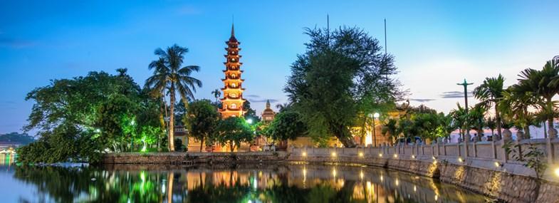 Circuit Vietnam - Jours 1 & 2 : Vol pour Hanoi
