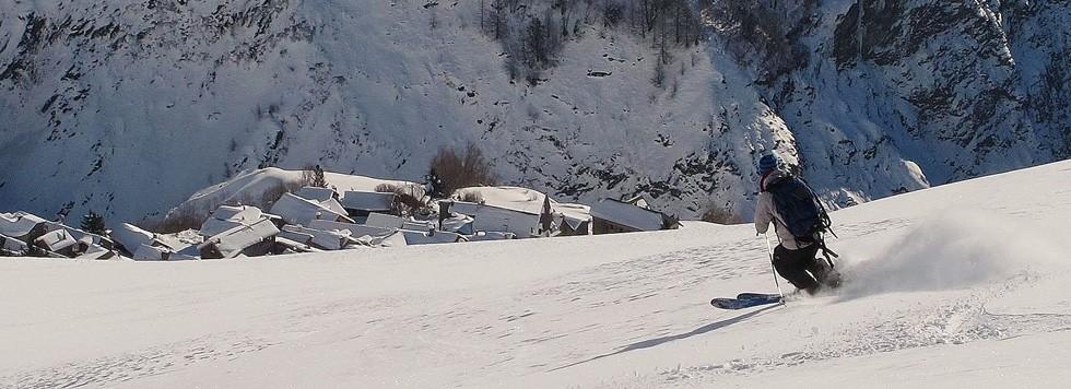circuit fr rh ne alpes ski de rando la grave serre chevalier les covoyageurs. Black Bedroom Furniture Sets. Home Design Ideas